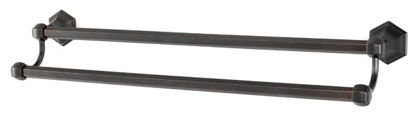 "Alno A7725-24 24"" Double Towel Bar"
