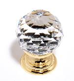 Alno C210 Clear Crystal Spherical